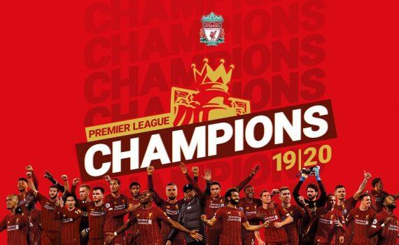Premier League Champions 19/20